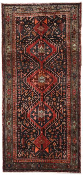 Gholtogh Matto 152X320 Itämainen Käsinsolmittu Käytävämatto Tummanruskea/Tummanpunainen (Villa, Persia/Iran)
