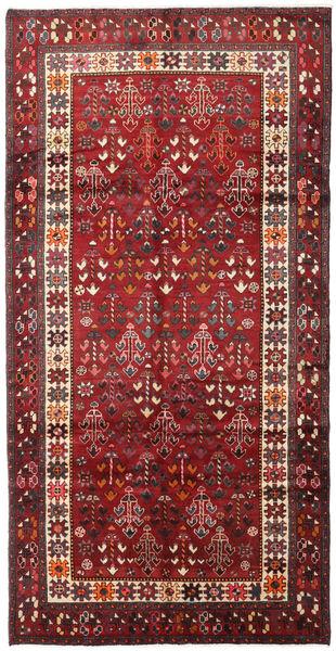 Lori Alfombra 146X287 Oriental Hecha A Mano Rojo Oscuro/Marrón (Lana, Persia/Irán)