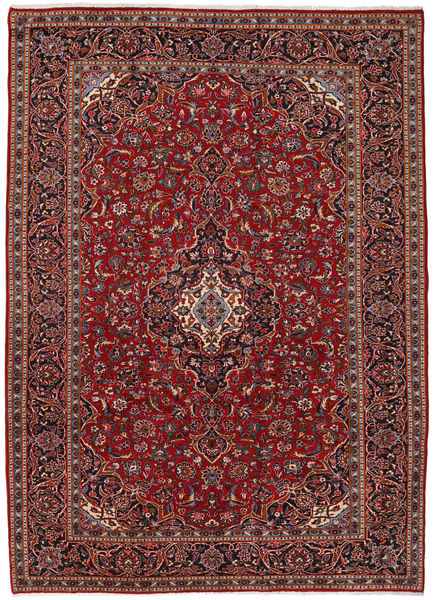 Mashad Rug 255X353 Authentic  Oriental Handknotted Dark Red/Black Large (Wool, Persia/Iran)