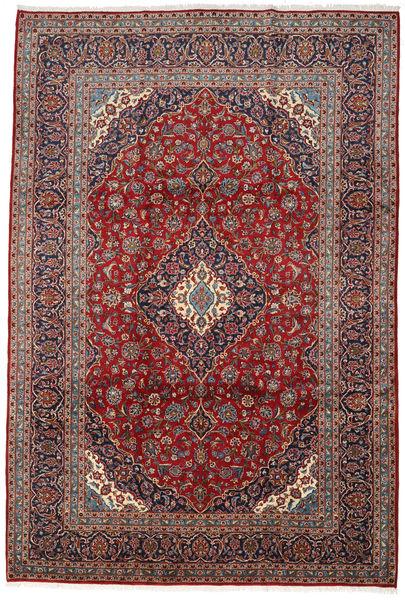 Keshan Matto 242X358 Itämainen Käsinsolmittu Tummanruskea/Ruskea (Villa, Persia/Iran)