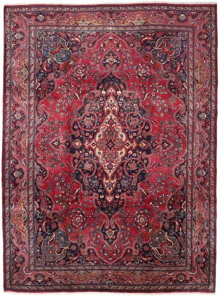 Mashad Matto 245X330 Itämainen Käsinsolmittu Tummanvioletti/Punainen (Villa, Persia/Iran)