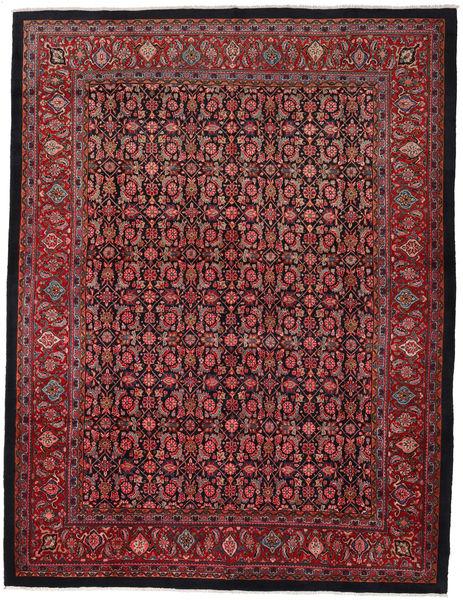 Sarouk Rug 297X388 Authentic  Oriental Handknotted Dark Red/Black Large (Wool, Persia/Iran)