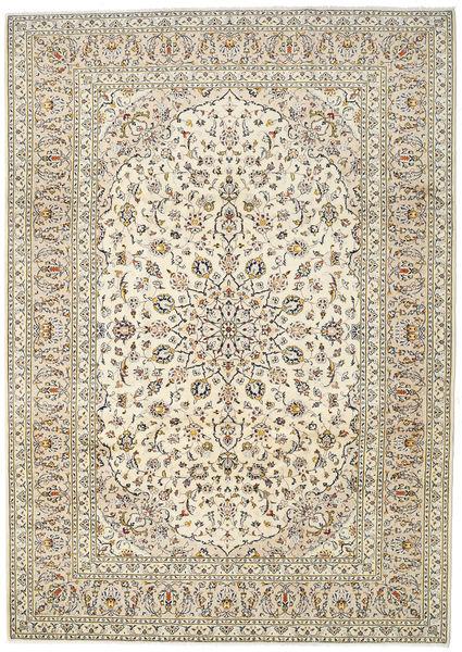 Keshan Matto 250X345 Itämainen Käsinsolmittu Beige/Vaaleanruskea Isot (Villa, Persia/Iran)