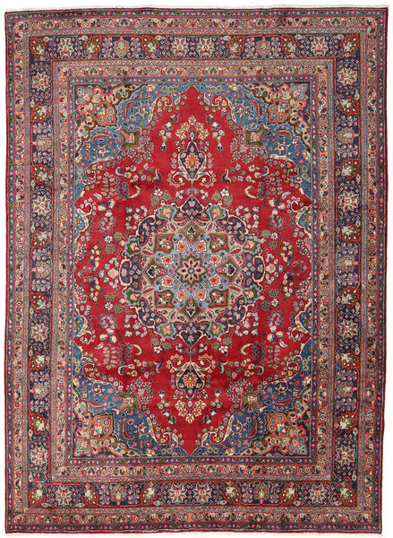Mashad Rug 248X339 Authentic  Oriental Handknotted Dark Red/Dark Grey (Wool, Persia/Iran)