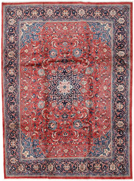 Mahal Matto 246X330 Itämainen Käsinsolmittu Tummanpunainen/Tummanvioletti (Villa, Persia/Iran)