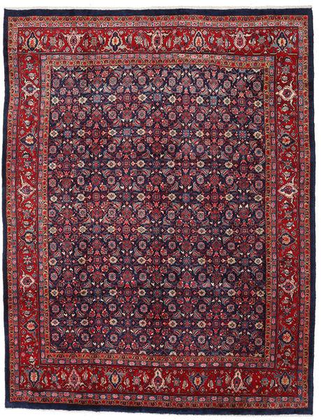 Sarough Matto 274X356 Itämainen Käsinsolmittu Tummanpunainen/Tummanvioletti Isot (Villa, Persia/Iran)