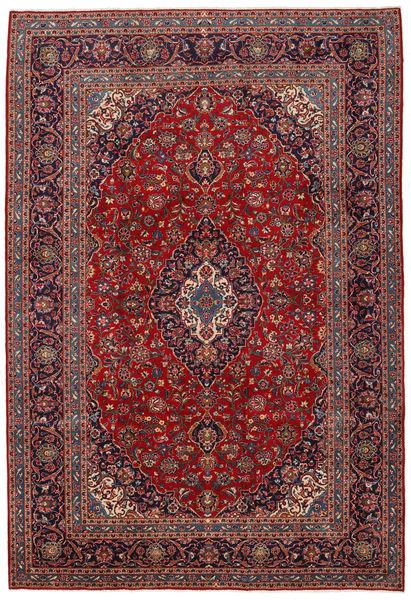 Keshan Matto 252X367 Itämainen Käsinsolmittu Tummanpunainen/Ruskea Isot (Villa, Persia/Iran)