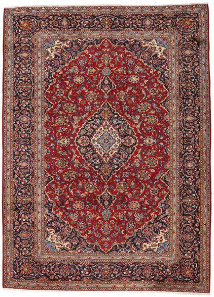 Keshan Matto 263X360 Itämainen Käsinsolmittu Ruskea/Tummanpunainen Isot (Villa, Persia/Iran)