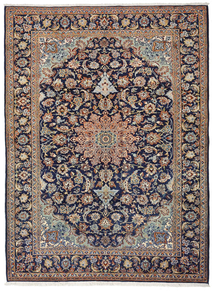 Mashad Rug 266X360 Authentic  Oriental Handknotted Light Grey/Light Brown/Dark Purple Large (Wool, Persia/Iran)