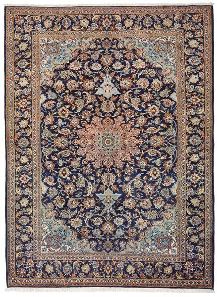 Mashad Tapis 266X360 D'orient Fait Main Gris Clair/Marron Clair/Violet Foncé Grand (Laine, Perse/Iran)