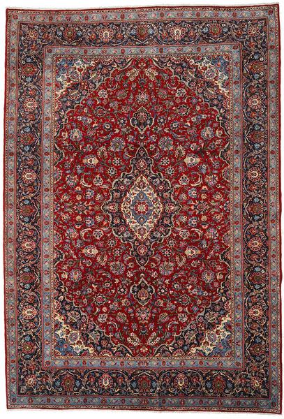 Keshan Matto 253X371 Itämainen Käsinsolmittu Tummanpunainen/Tummanruskea Isot (Villa, Persia/Iran)