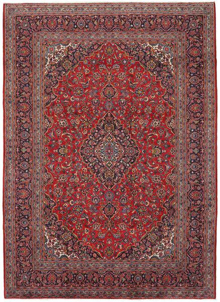 Keshan Matto 245X340 Itämainen Käsinsolmittu Tummanpunainen/Tummansininen (Villa, Persia/Iran)