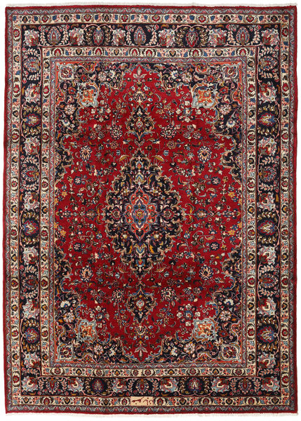 Mashad Rug 240X334 Authentic  Oriental Handknotted Dark Red/Brown (Wool, Persia/Iran)