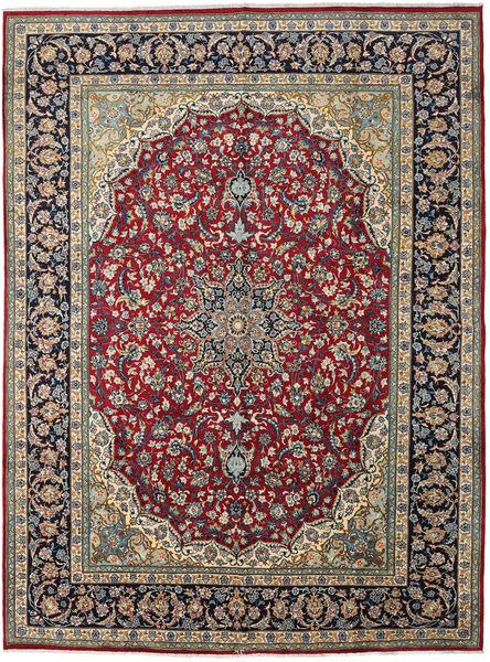 Najafabad Matto 289X392 Itämainen Käsinsolmittu Tummanharmaa/Ruskea Isot (Villa, Persia/Iran)