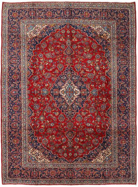 Keshan Matto 295X397 Itämainen Käsinsolmittu Ruskea/Vaaleanharmaa Isot (Villa, Persia/Iran)