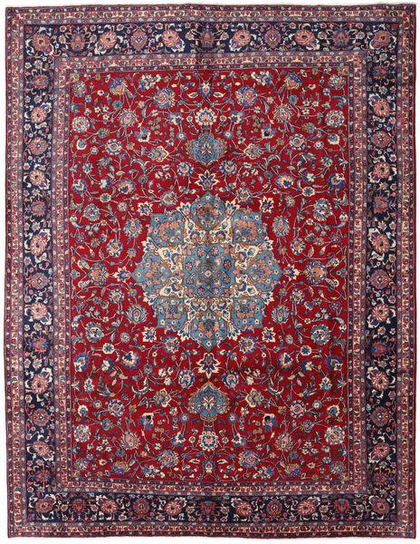 Mashad Rug 297X381 Authentic  Oriental Handknotted Dark Red/Dark Purple Large (Wool, Persia/Iran)