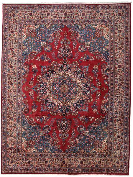 Mashad Rug 296X390 Authentic  Oriental Handknotted Dark Purple/Brown Large (Wool, Persia/Iran)