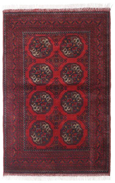 Afghan Khal Mohammadi Matto 99X150 Itämainen Käsinsolmittu Tummanpunainen/Beige (Villa, Afganistan)