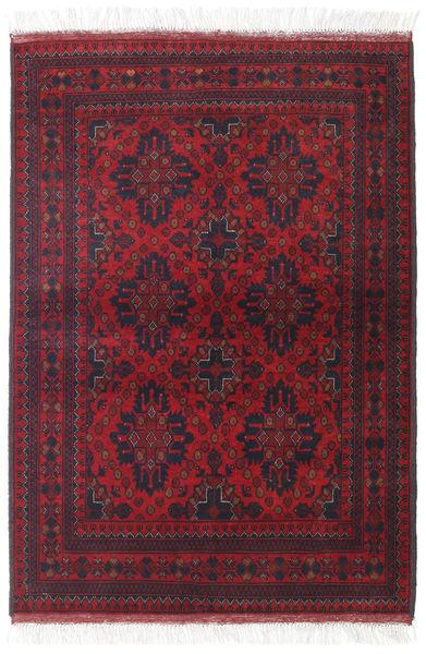 Afghan Khal Mohammadi Matto 106X150 Itämainen Käsinsolmittu Tummanpunainen/Tummanvihreä (Villa, Afganistan)