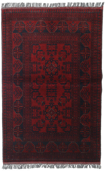 Afghan Khal Mohammadi Alfombra 97X151 Oriental Hecha A Mano Rojo Oscuro (Lana, Afganistán)