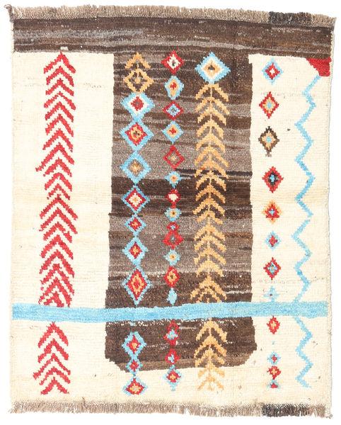 Barchi/Moroccan Berber - Afganistan 絨毯 98X119 モダン 手織り ベージュ/薄茶色 (ウール, アフガニスタン)