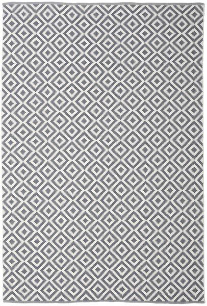 Torun - Grey/Neutral Rug 200X300 Authentic  Modern Handwoven Light Grey/Dark Grey/Beige (Cotton, India)
