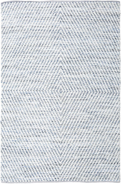 Hilda - Denim/White Rug 200X300 Authentic  Modern Handwoven Beige/Light Blue (Cotton, India)