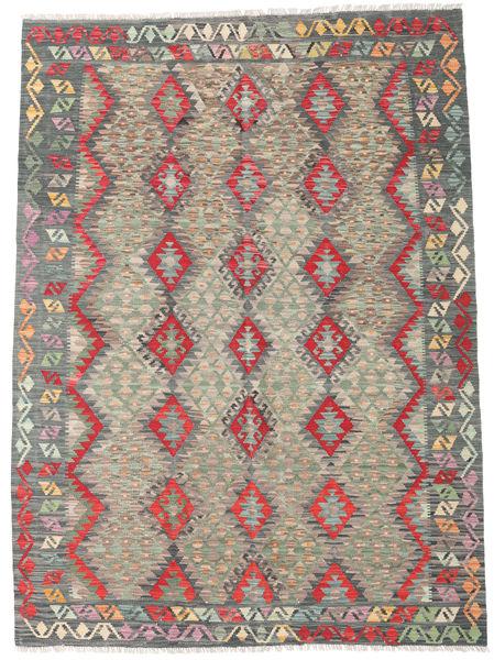 Kilim Afghan Old Style Rug 179X248 Authentic  Oriental Handwoven Dark Grey/Light Grey (Wool, Afghanistan)