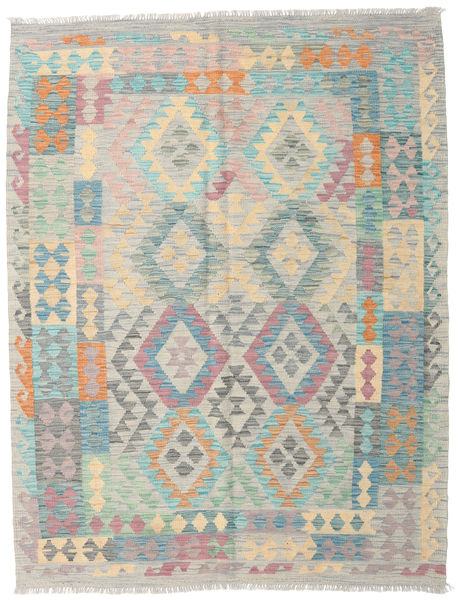 Kilim Afghan Old Style Rug 149X194 Authentic  Oriental Handwoven Light Grey/Light Brown (Wool, Afghanistan)