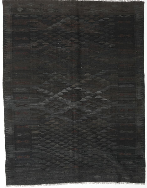 Kilim Afghan Old Style Rug 187X241 Authentic  Oriental Handwoven Black/Dark Grey (Wool, Afghanistan)