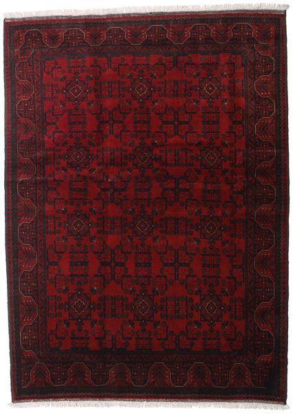 Afghan Khal Mohammadi Rug 176X238 Authentic  Oriental Handknotted Dark Brown/Dark Red (Wool, Afghanistan)