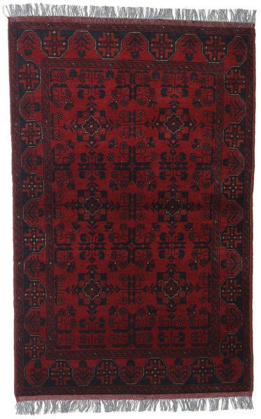 Afghan Khal Mohammadi Matto 100X150 Itämainen Käsinsolmittu Tummanpunainen (Villa, Afganistan)