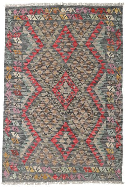 Kilim Afghan Old Style Rug 119X178 Authentic  Oriental Handwoven Dark Grey/Light Brown (Wool, Afghanistan)