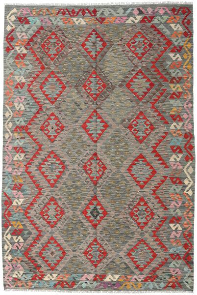 Kilim Afghan Old Style Rug 169X251 Authentic  Oriental Handwoven Light Grey/Dark Grey (Wool, Afghanistan)