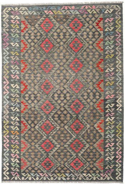 Kilim Afghan Old Style Rug 168X275 Authentic  Oriental Handwoven Dark Grey/Light Grey (Wool, Afghanistan)