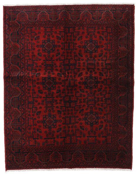 Afgan Khal Mohammadi Dywan 153X193 Orientalny Tkany Ręcznie Ciemnoczerwony (Wełna, Afganistan)