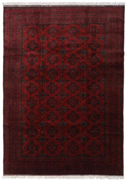 Afghan Khal Mohammadi Rug 202X297 Authentic  Oriental Handknotted Dark Red (Wool, Afghanistan)