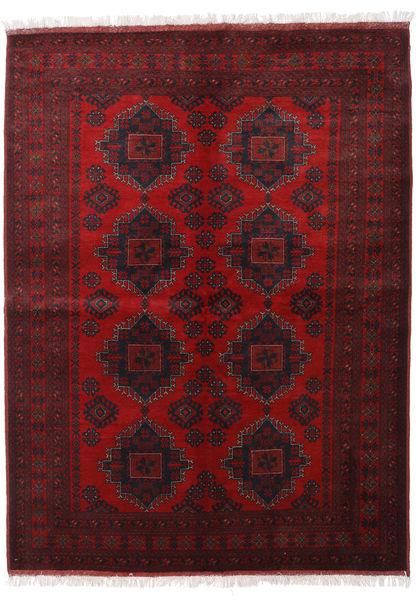 アフガン Khal Mohammadi 絨毯 181X242 オリエンタル 手織り 深紅色の/濃い茶色 (ウール, アフガニスタン)