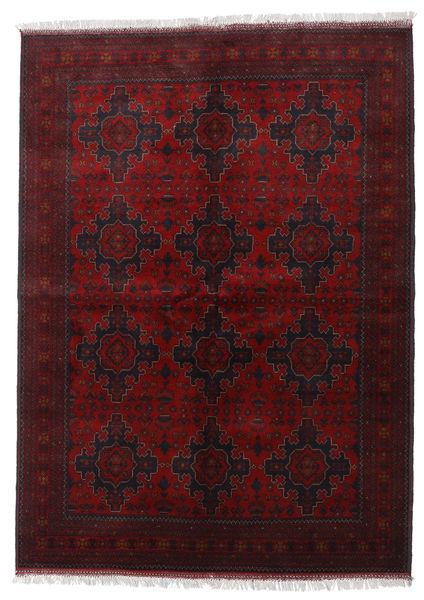Afghan Khal Mohammadi Rug 168X233 Authentic  Oriental Handknotted Dark Brown/Dark Red (Wool, Afghanistan)