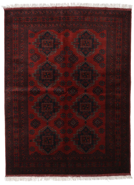 Afghan Khal Mohammadi Rug 175X233 Authentic  Oriental Handknotted Dark Red (Wool, Afghanistan)