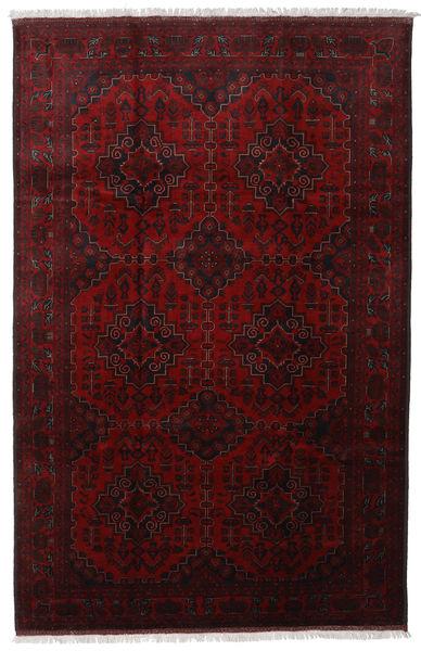 Afghan Khal Mohammadi Vloerkleed 203X312 Echt Oosters Handgeknoopt Donkerrood (Wol, Afghanistan)
