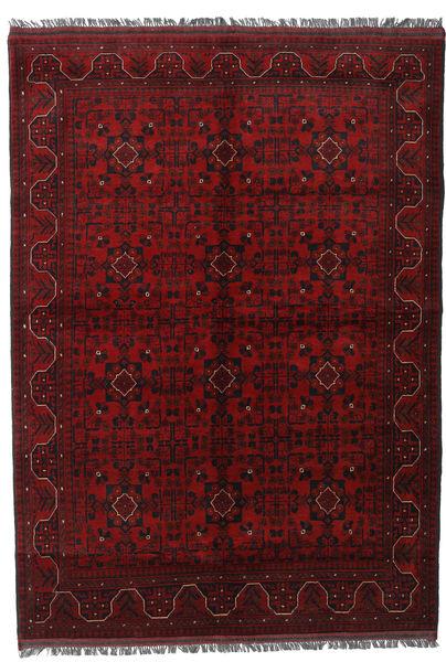 Afghan Khal Mohammadi Rug 176X247 Authentic  Oriental Handknotted Dark Red/Dark Brown (Wool, Afghanistan)