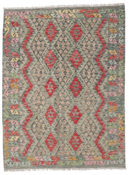 Kilim Afghan Old Style Rug 152X200 Authentic  Oriental Handwoven Light Grey/Dark Grey (Wool, Afghanistan)
