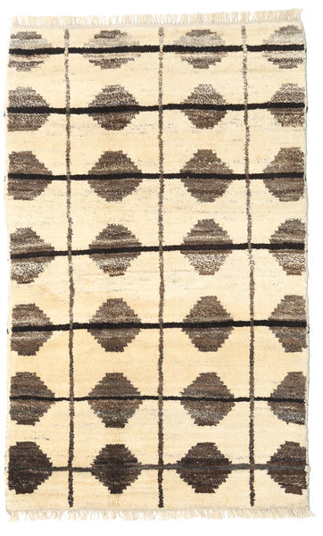 Barchi/Moroccan Berber - Afganistan Rug 117X191 Authentic  Modern Handknotted Beige/Light Brown (Wool, Afghanistan)