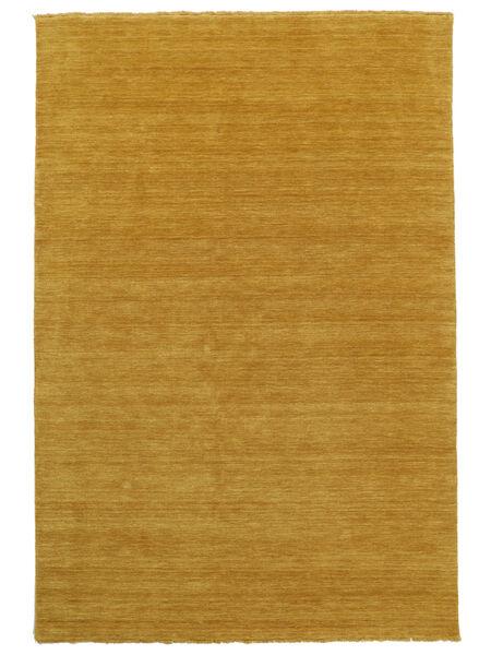 Handloom Fringes - Yellow Rug 160X230 Modern Light Brown (Wool, India)