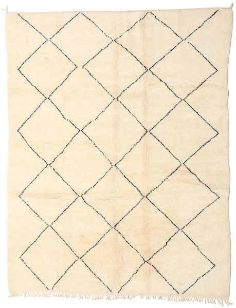 Berber Moroccan - Beni Ourain Rug 213X270 Authentic  Modern Handknotted Beige/Yellow (Wool, Morocco)
