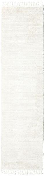 Clary - Cream Tapis 80X300 Moderne Tapis Couloir Beige/Blanc/Crème ( Turquie)
