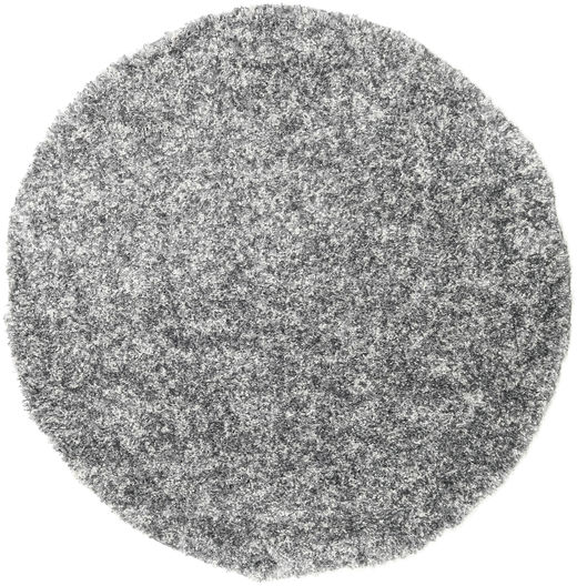 Pepper & Salt - Grey Mix Rug Ø 200 Modern Round Dark Grey/Light Grey ( Turkey)