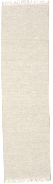 Melange - Sand Rug 80X250 Authentic  Modern Handwoven Hallway Runner  Beige (Wool, India)