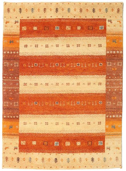 Gabbeh Indie Dywan 147X204 Nowoczesny Tkany Ręcznie Pomarańczowy/Jasnobrązowy (Wełna, Indie)